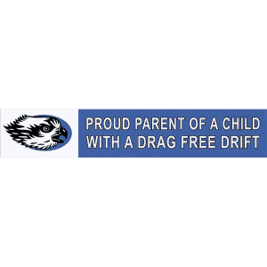 TroutHunter Proud Parent Sticker Small