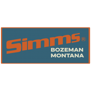 Simms Retro Logo Decal