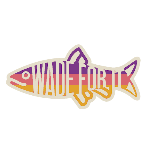 Postfly Wade For It Rainbow Trout