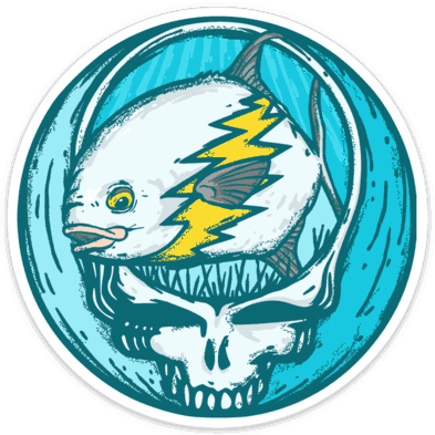 Richard Blanco Steal Your Face Permit Sticker