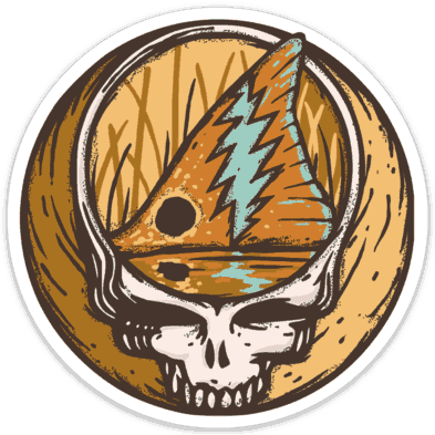 Richard Blanco Steal Your Face Redfish Sticker