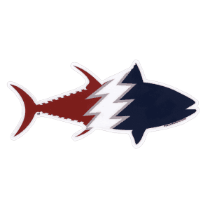Pesca Muerta Tuna Decal