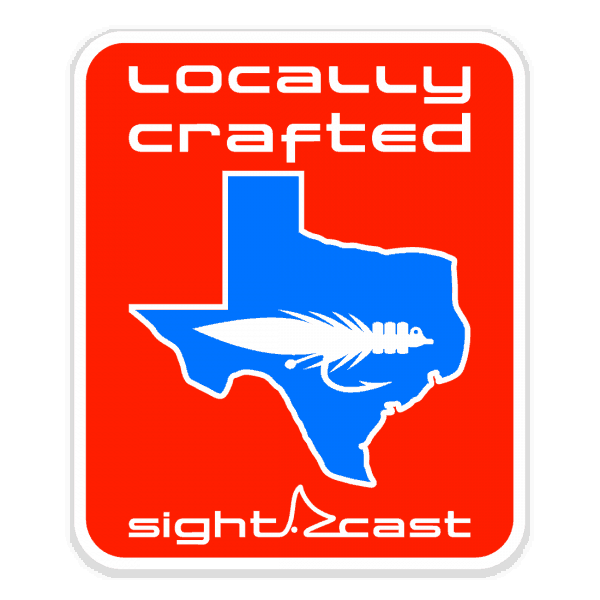 Sight Cast Salt Water Fly Fishing Locally Crafted Fly Sticker