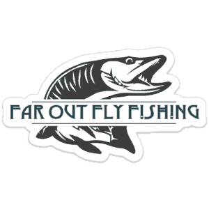 Far Out Fly Fishing Musky Fly Fishing Logo