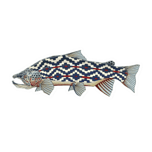 Casey Underwood Gaucho Trout Sticker