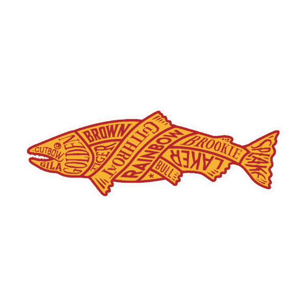 McFly North American Trout Sticker
