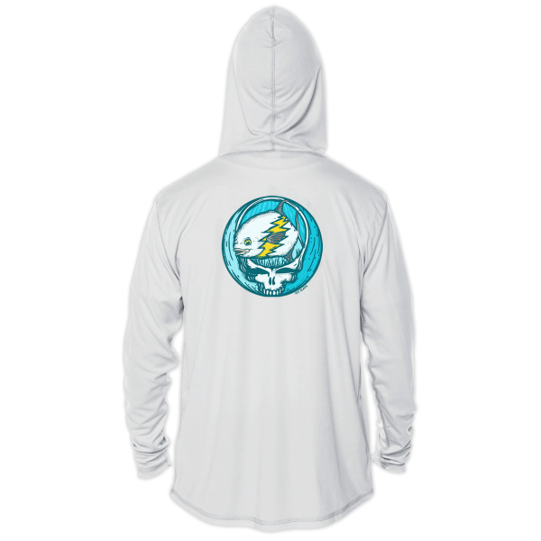 Fly Slaps Steal Your Face Permit Solar Hoody Back
