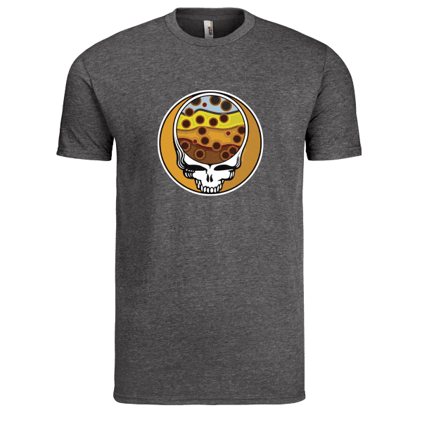 Fly Slaps Steel Your Face Brown Trout TShirt