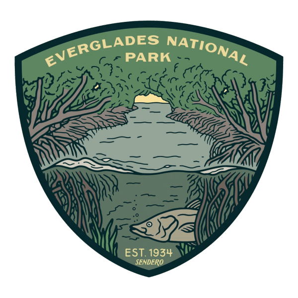 Sendero Everglades National Park Sticker