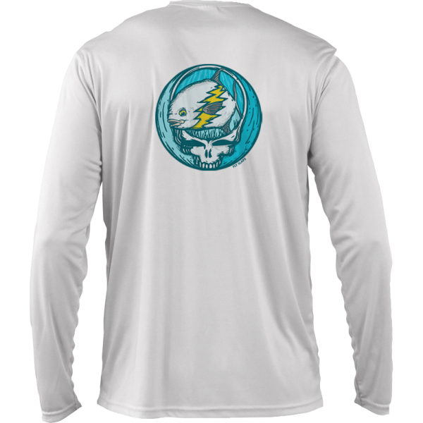 Fly Slaps Steal Your Face Permit Solar shirt Back