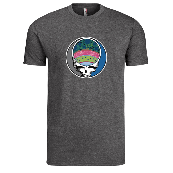 Fly Slaps Steal Your Face Rainbow Trout TShirt